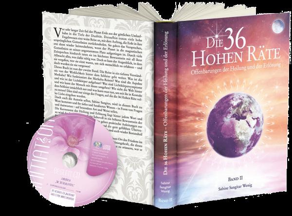 """Buch: """"Die 36 Hohen Räte"""" Band 2 - Offenbarungen der Heilung und der Erlösung"""