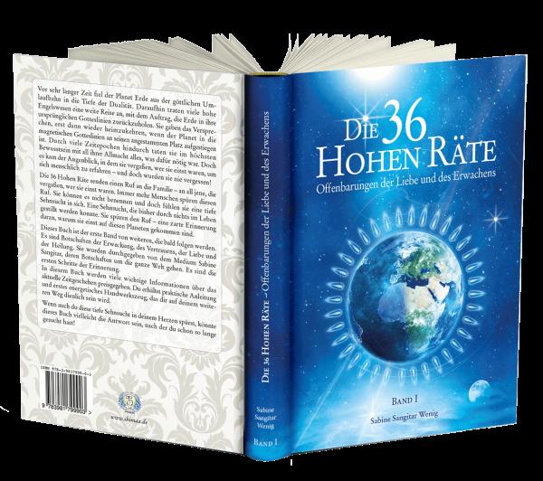 """Buch: """"Die 36 Hohen Räte"""" Band 1 - Offenbarungen der Liebe und des Erwachens"""