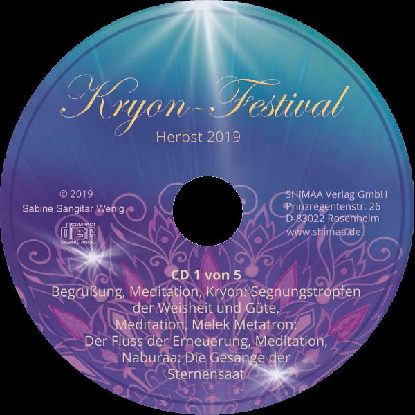 Mitschnitte Kryonfestival Herbst 2019