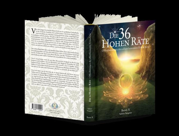 """Buch: """"Die 36 Hohen Räte"""" Band 10 - Offenbarungen des allumfassenden Erwachens"""