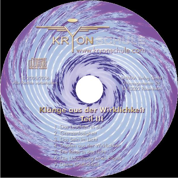 CD Klänge aus der Wirklichkeit Teil 3