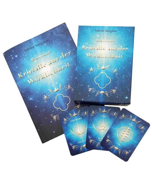 """Set Karten und Booklet """"Kristalle aus der Wirklichkeit"""""""