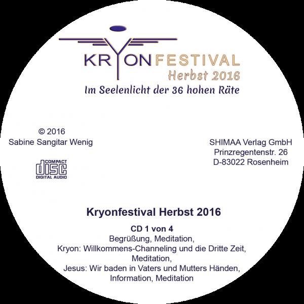 Mitschnitte Kryonfestival Herbst 2016