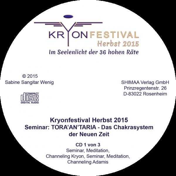 """Mitschnitt Seminar """"TORA'AN'TARIA - Das Chakrasystem der Neuen Zeit"""""""
