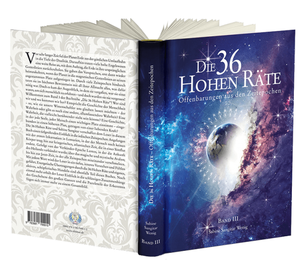 """Buch: """"Die 36 Hohen Räte"""" Band 3 - Offenbarungen aus den Zeitepochen"""