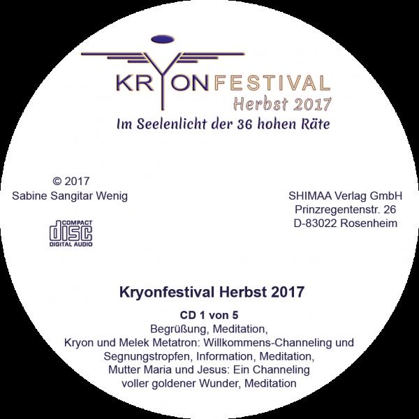 Mitschnitt Kryonfestival Herbst 2017