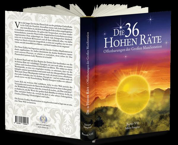 """Buch: """"Die 36 Hohen Räte"""" Band 7 - Offenbarungen der Großen Manifestation"""""""