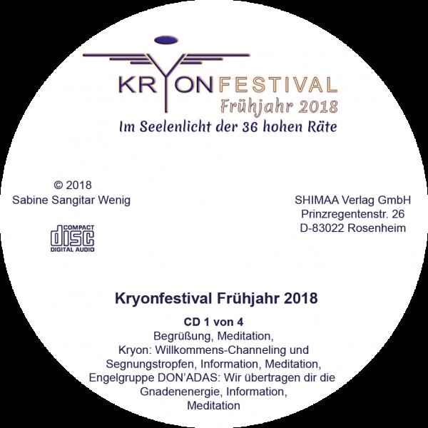 Mitschnitt Kryonfestival Frühjahr 2018