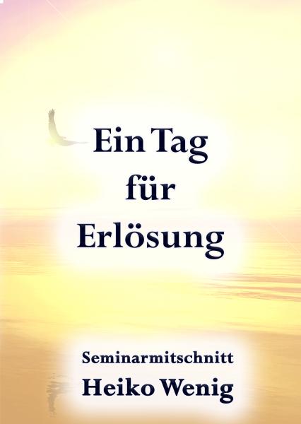 """Seminar CD """"Ein Tag für Erlösung"""""""