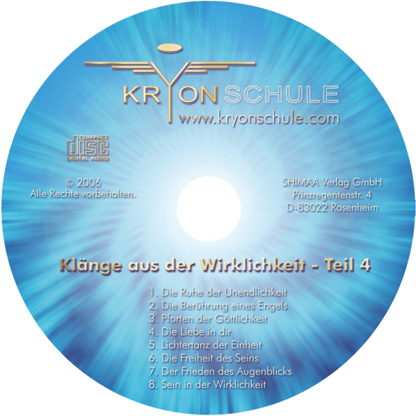 CD Klänge aus der Wirklichkeit Teil 4