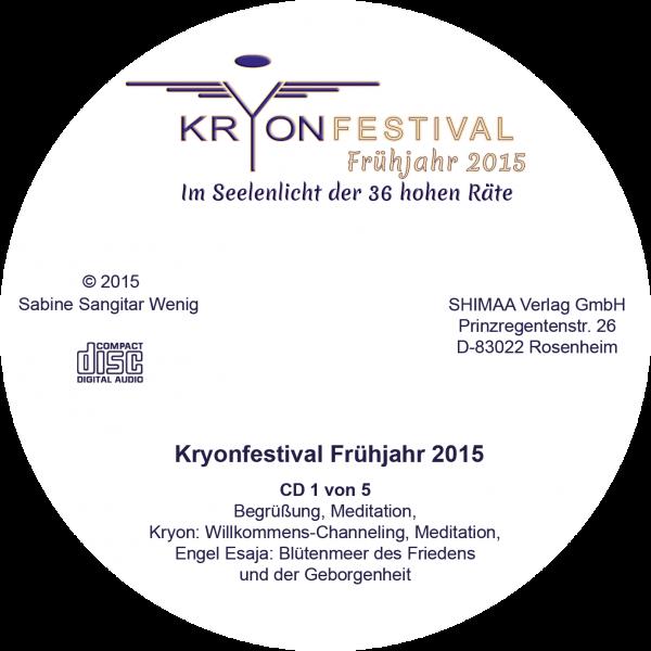 Mitschnitt Kryonfestival Frühjahr 2015