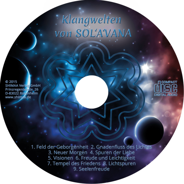 CD Klangwelten von Sol'A'Vana