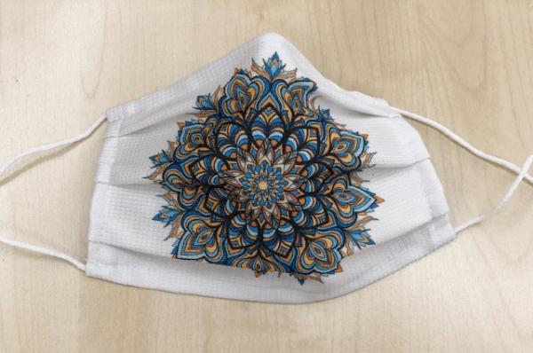 Energetisierte Maske - Mandala