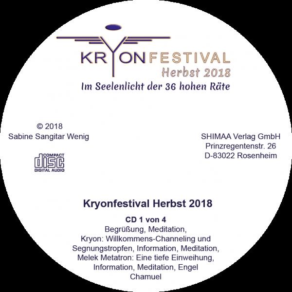 Mitschnitte Kryonfestival Herbst 2018