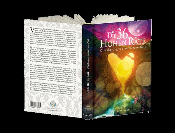"""Buch: """"Die 36 Hohen Räte"""" Band 8 - Offenbarungen einer Neuen Welt"""