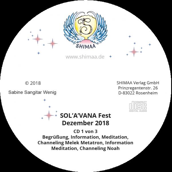 """Mitschnitte """"SOL'A'VANA Fest 2018"""""""