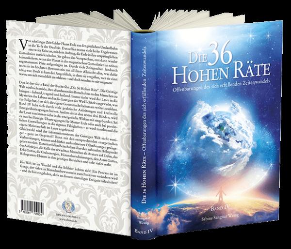 """Buch: """"Die 36 Hohen Räte"""" Band 4 - Offenbarungen des sich erfüllenden Zeitenwandels"""