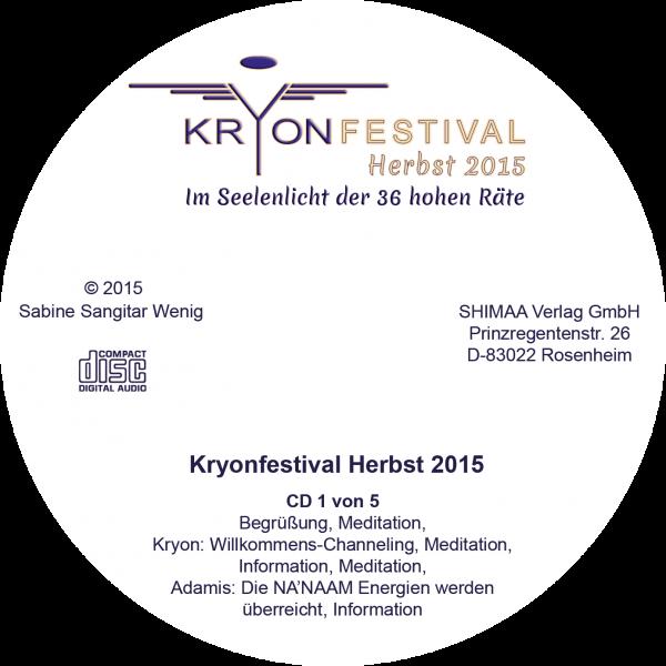 Mitschnitte Kryonfestival Herbst 2015