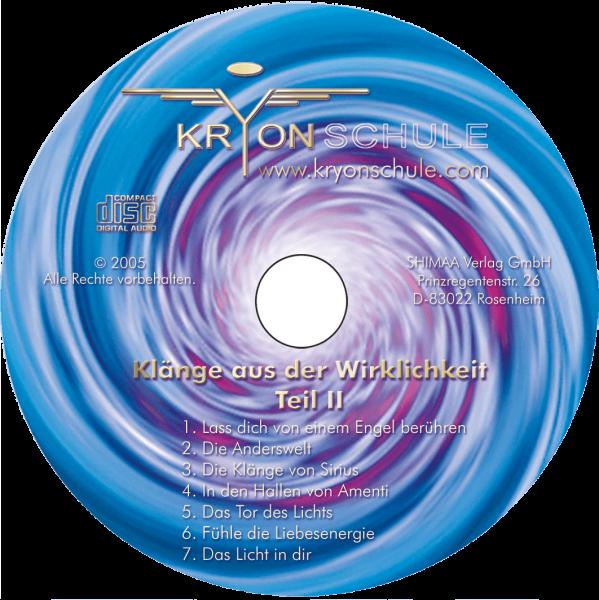 CD Klänge aus der Wirklichkeit Teil 2