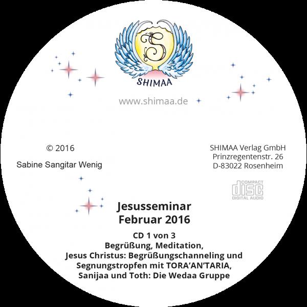 Mitschnitte Jesus-Seminar 2016