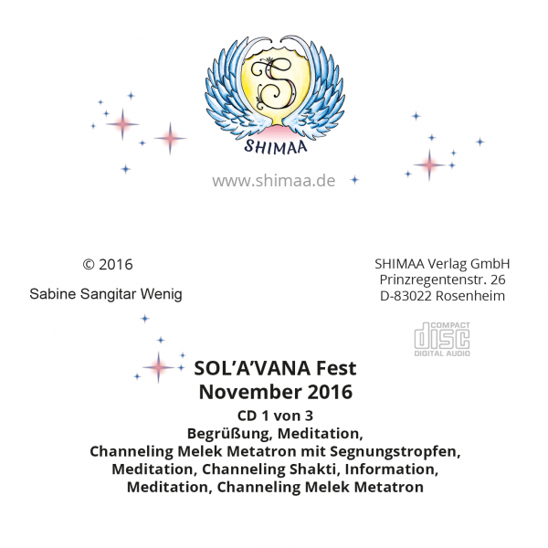 "Mitschnitt ""SOL'A'VANA Fest 2016"""