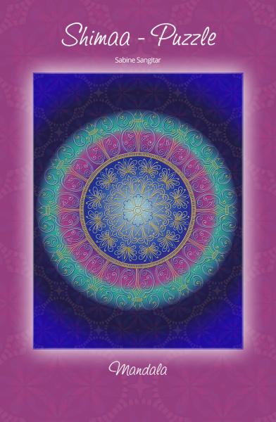 Energetisiertes Puzzle - Mandala Ursprungsliebe - 1000 Teile